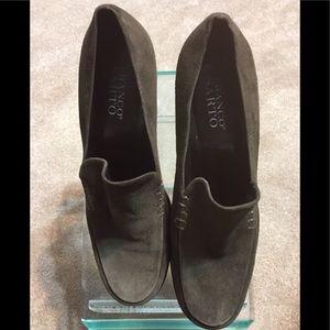 FRANCO SARTO SUADE 3 inch heels